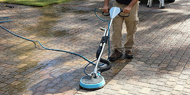 Driveway Tiles Deep Cleaning