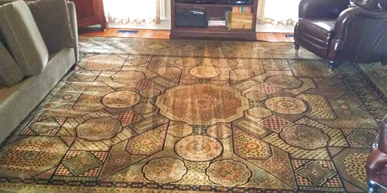 Living Room Rug Cleaning